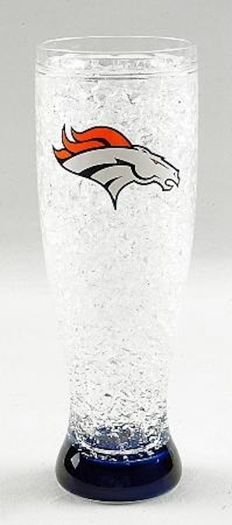 Denver Broncos Ice Pilsner Glass