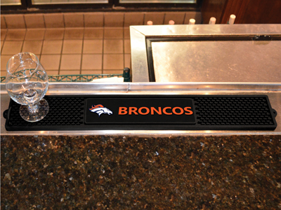 Denver Broncos Bar Drink Mat