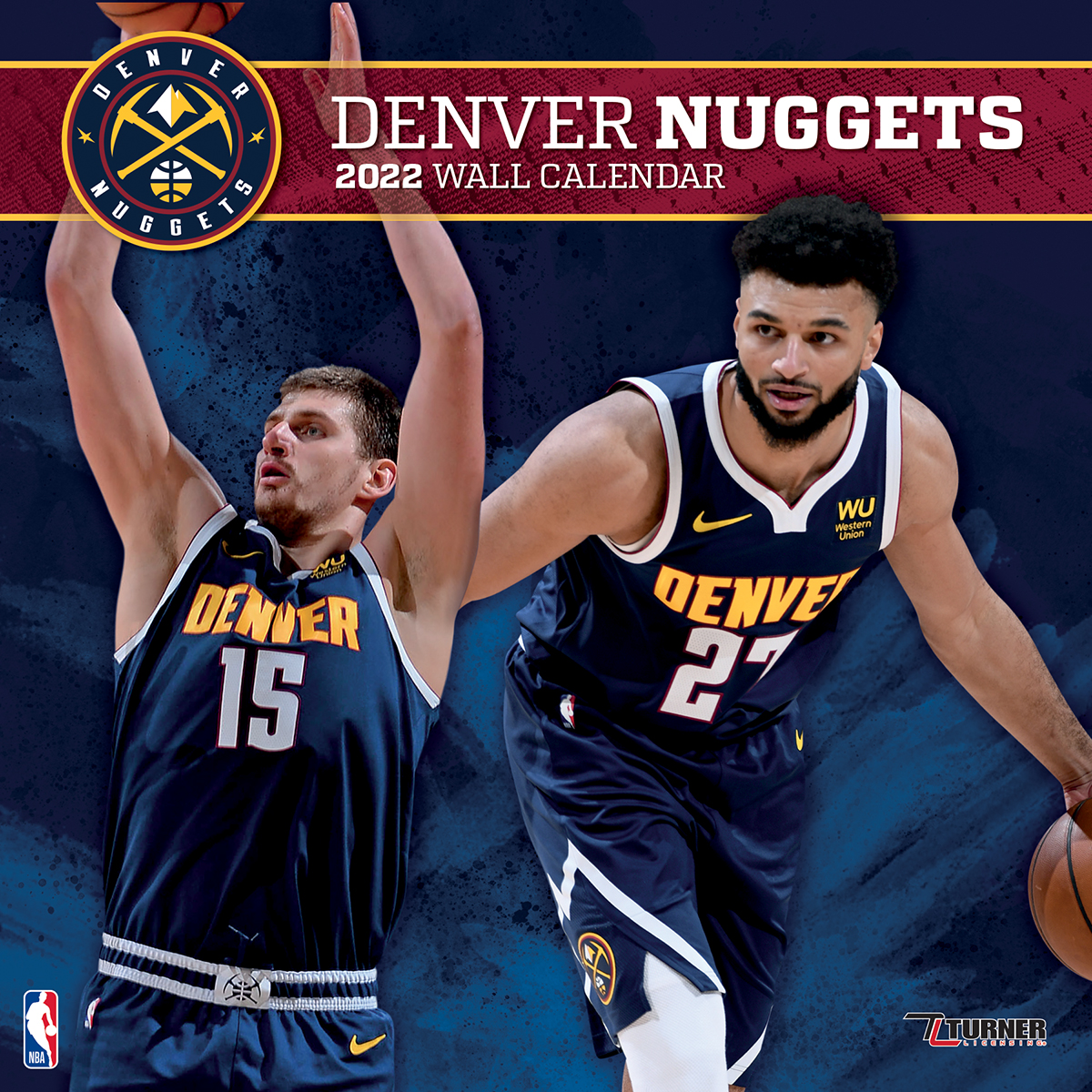 Denver Nuggets 2019 Wall Calendar Buy At Khc Sports