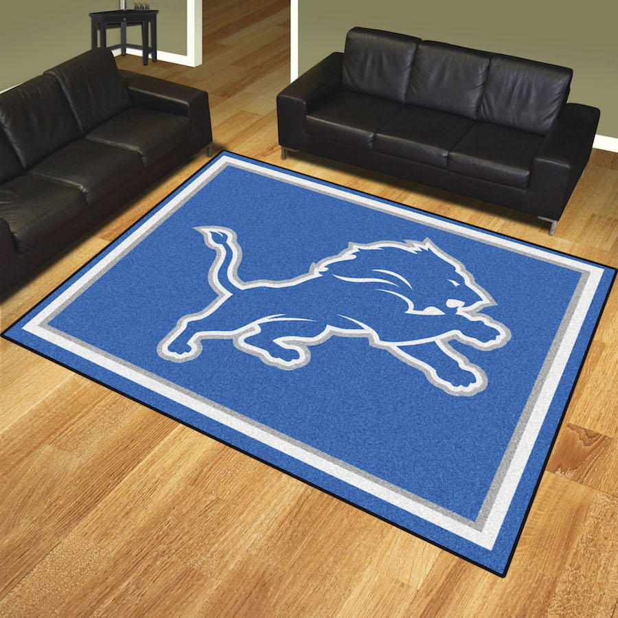 Detroit Lions Ultra Plush 8x10 Area Rug Buy At Khc Sports