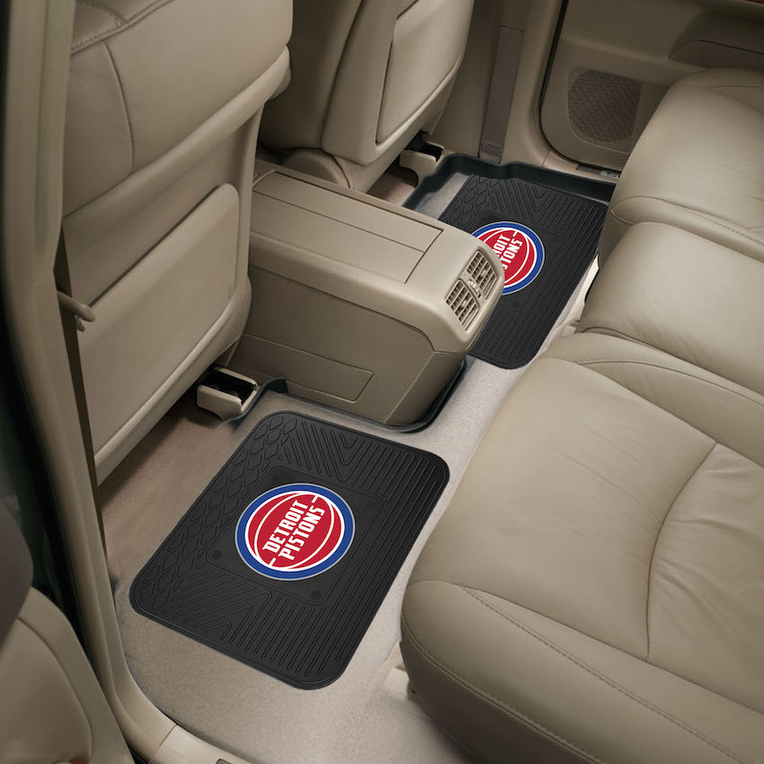 Detroit Pistons Small Utility Mat (Set of 2)