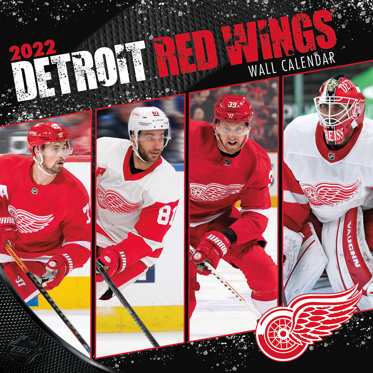 Detroit Red Wings 2018 Mini Wall Calendar Buy At Khc Sports