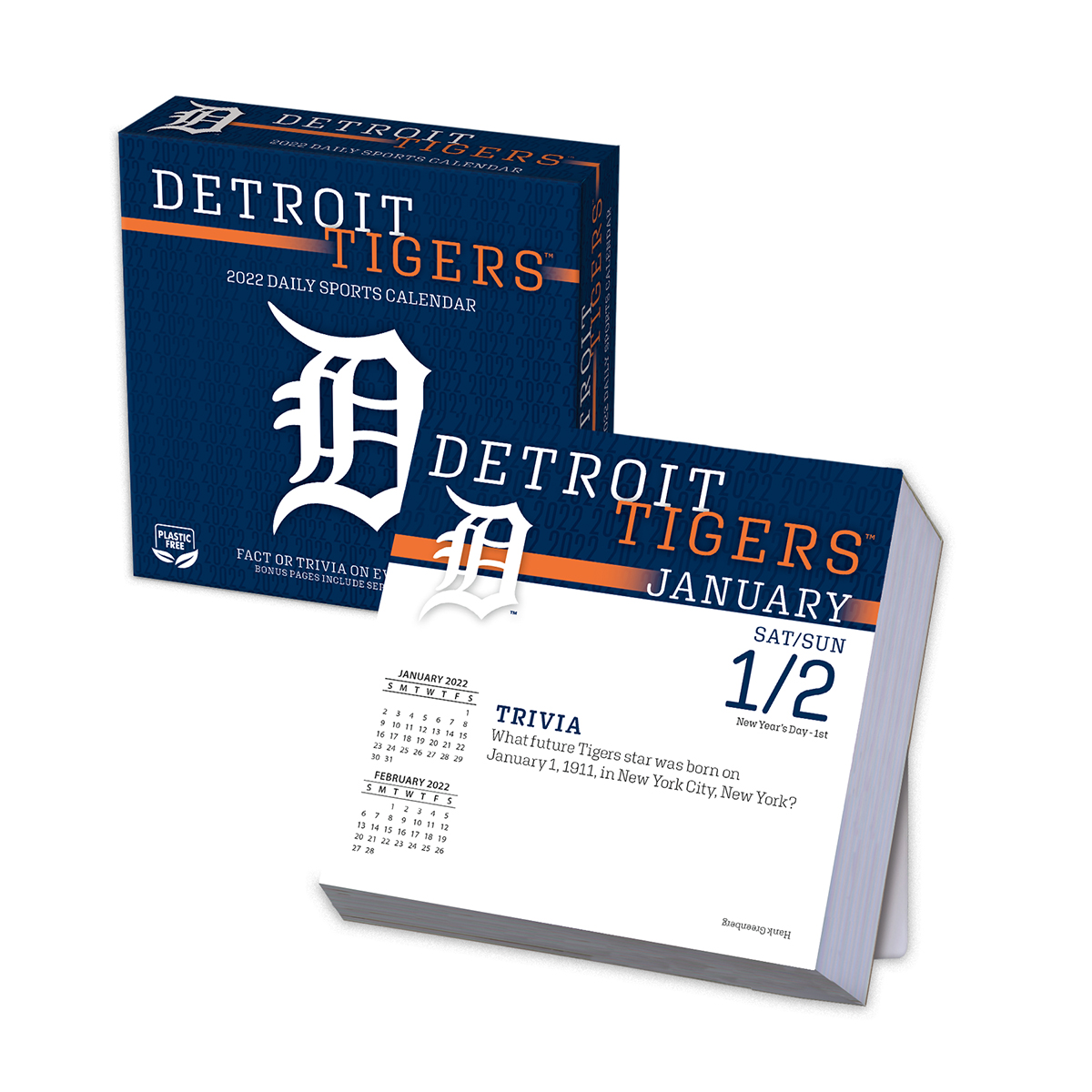 Detroit Tigers 2019 Page-A-Day Box Calendar