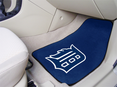 Detroit Tigers Car Floor Mats 18 x 27 Carpeted-Pair
