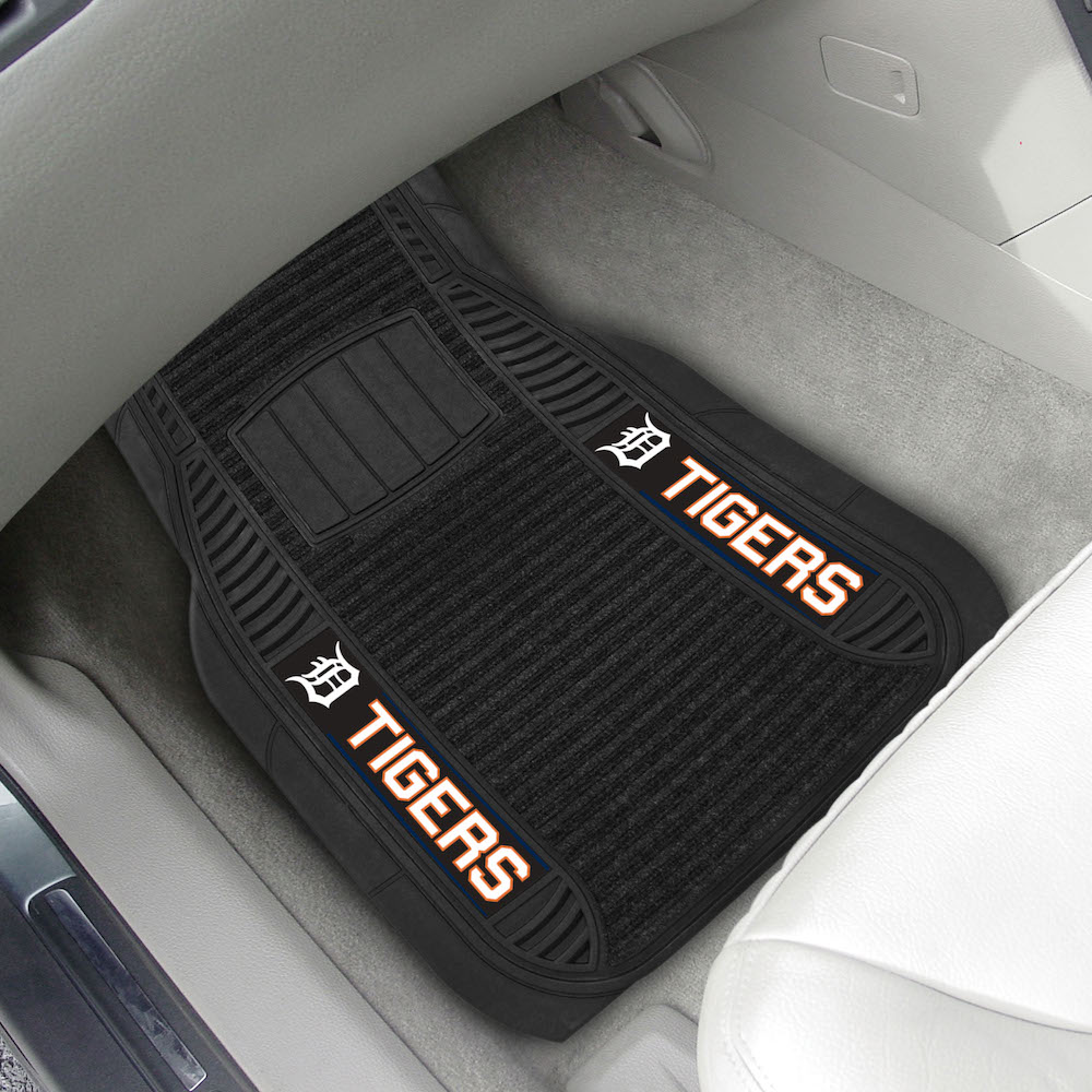 Detroit Tigers Deluxe 20 x 27 Car Floor Mats