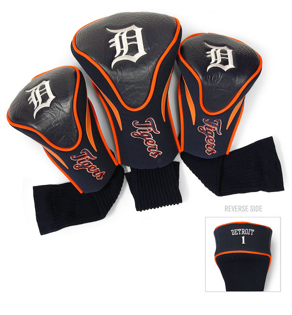 Detroit Tigers 3 Pack Contour Headcovers