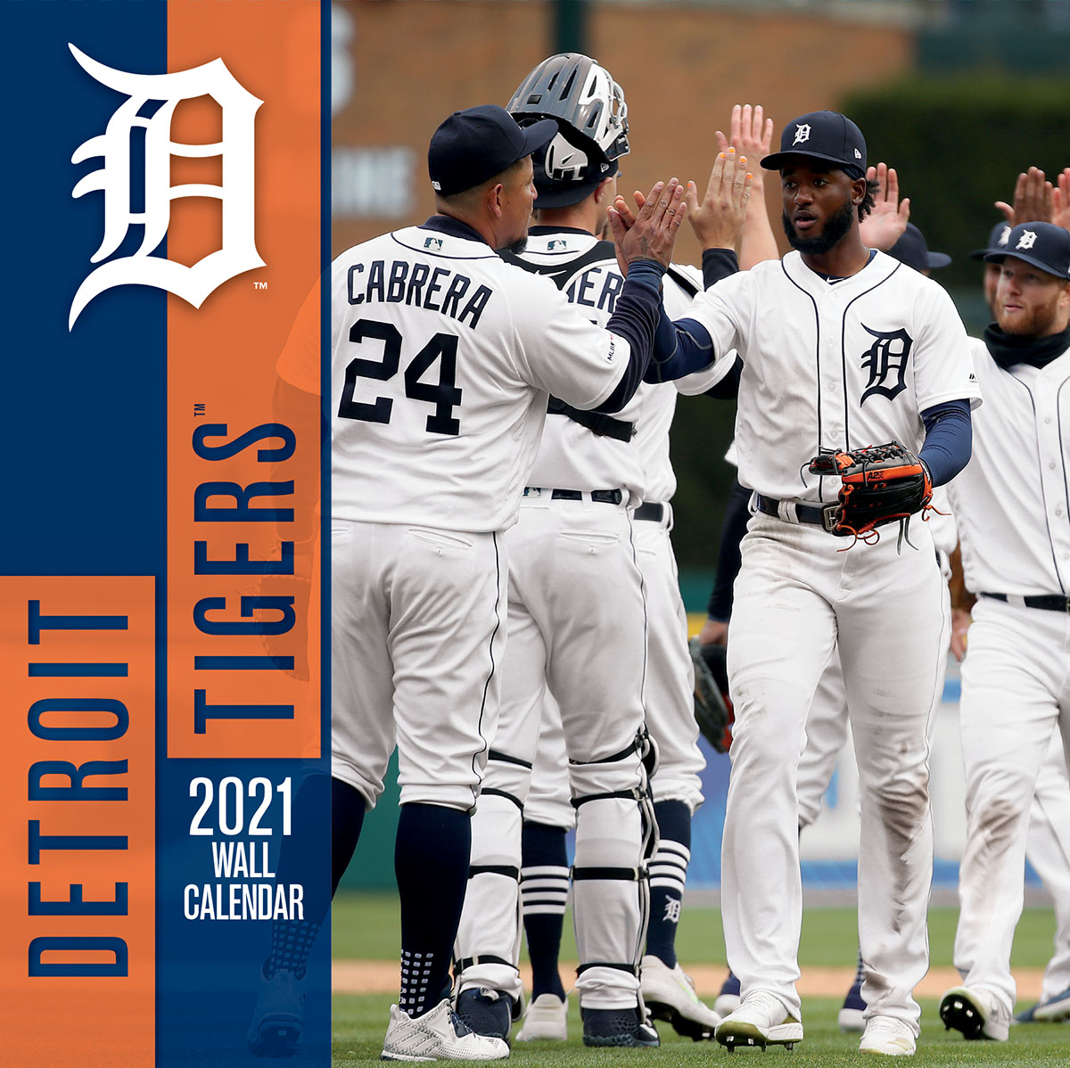 Detroit Tigers 2019 Wall Calendar