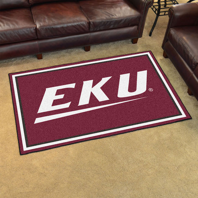 Eastern Kentucky Colonels 4x6 Area Rug
