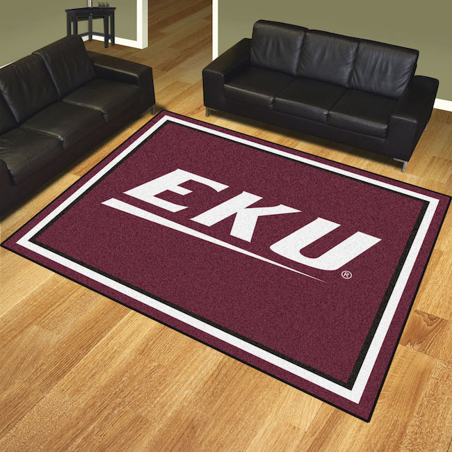 Eastern Kentucky Colonels Ultra Plush 8x10 Area Rug