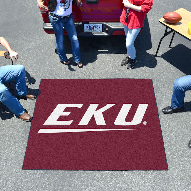 Eastern Kentucky Colonels TAILGATER 60 x 72 Rug