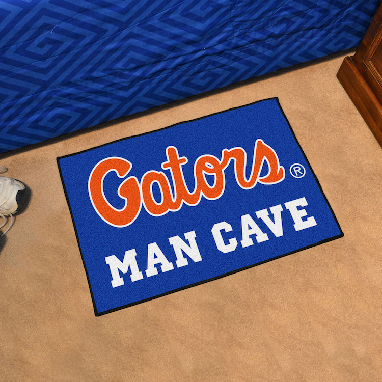 Florida Gators MAN CAVE 20 x 30 STARTER Floor Mat