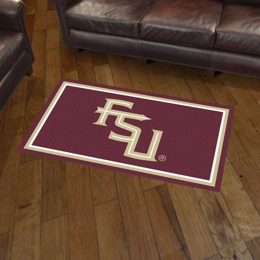 Florida State Seminoles Football Floor Mat: Florida State Seminoles 3x5 Area Rug