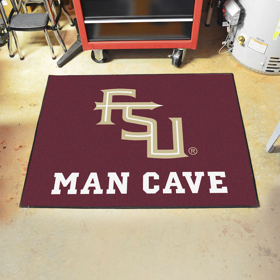 Florida State Seminoles ALL STAR 34 x 45 MAN CAVE Floor Mat