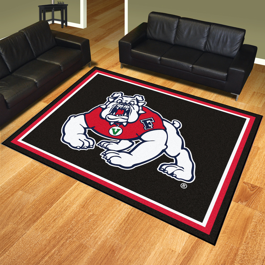 Fresno State Bulldogs Ultra Plush 8x10 Area Rug
