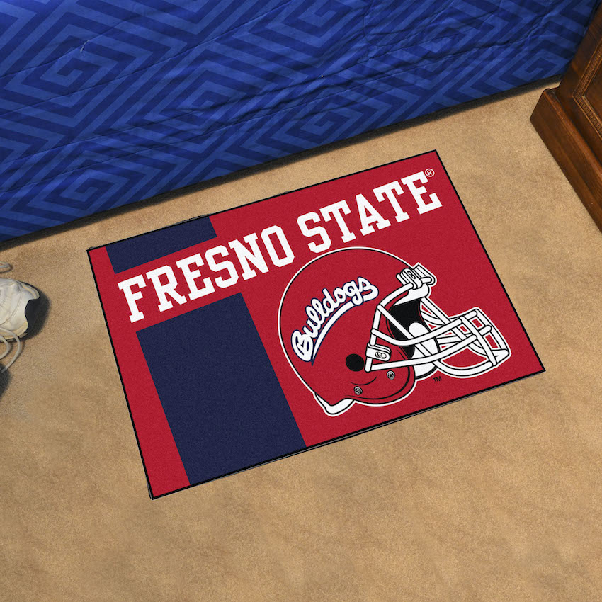 Fresno State Bulldogs 20 x 30 STARTER Floor Mat ALTERNATE