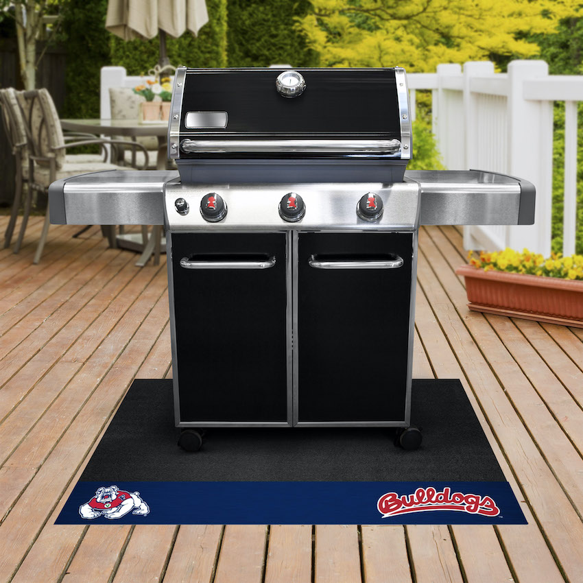 Fresno State Bulldogs NCAA Grill Mat