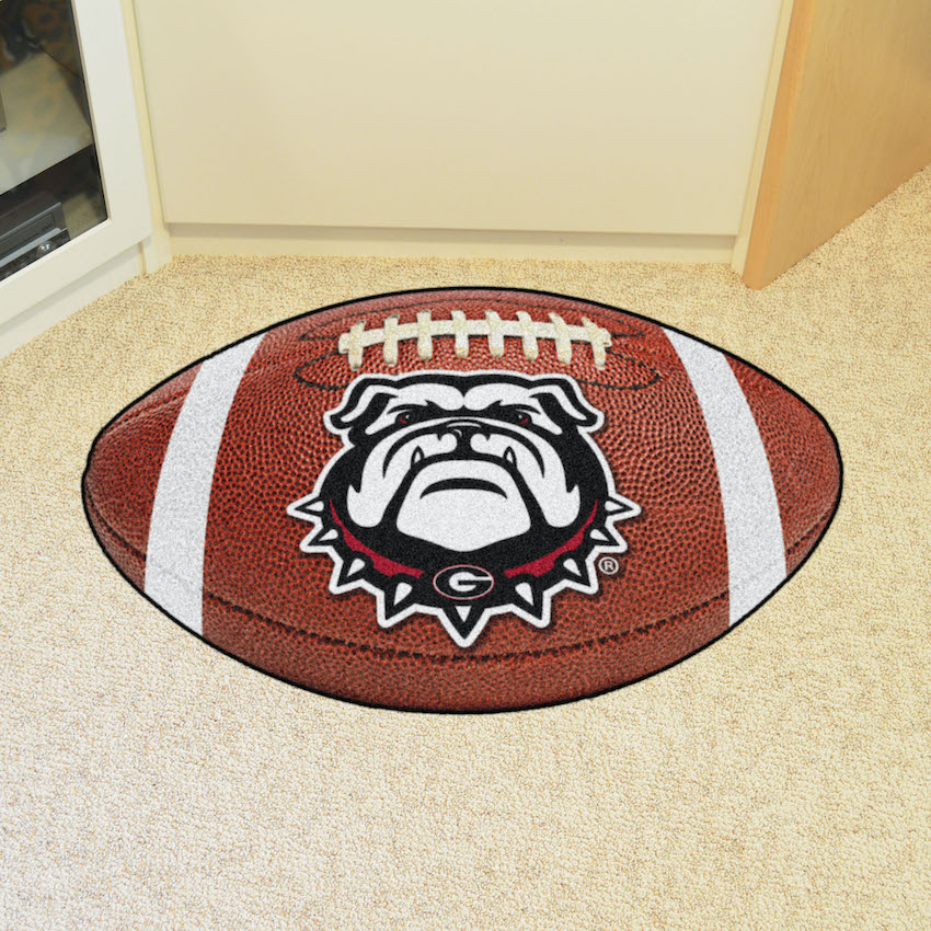 Georgia Bulldog Uga Football Floor Mat Buy At Khc Sports