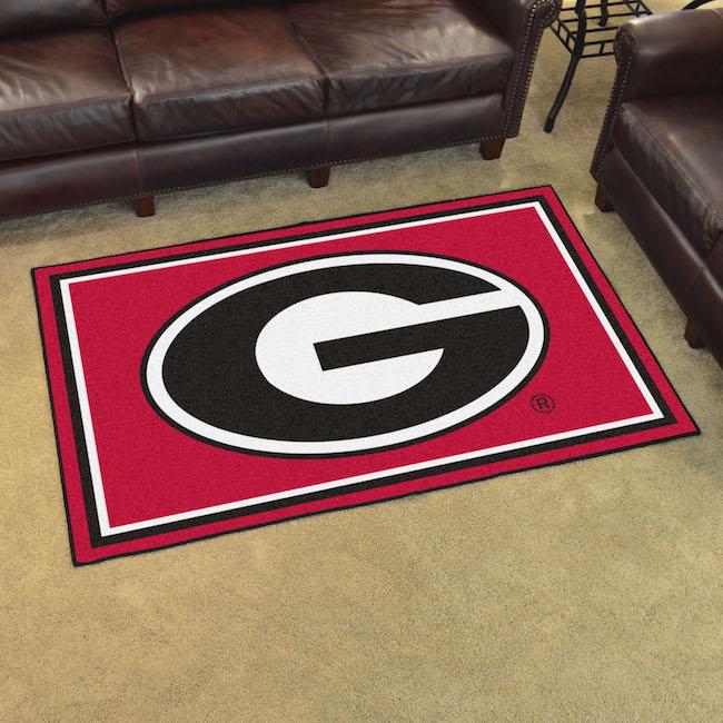 Georgia Bulldogs 4x6 Area Rug