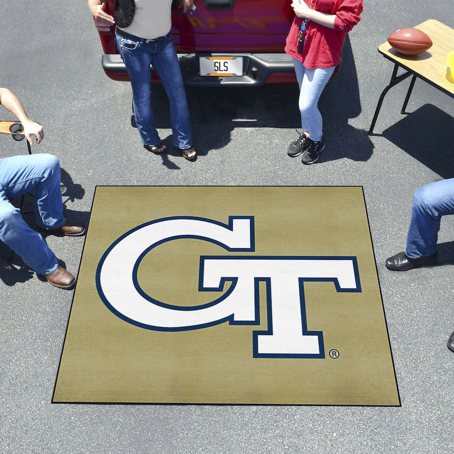 Georgia Tech Yellow Jackets TAILGATER 60 x 72 Rug