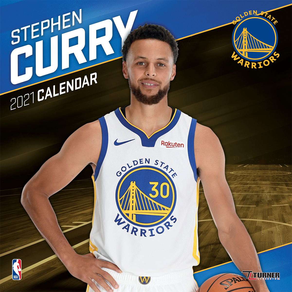 Warriors Record Without Stephen Curry 2017: Golden State Warriors Stephen Curry 2019 Wall Calendar