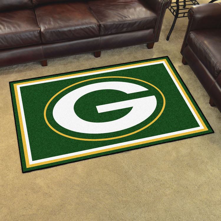 Green Bay Packers 4x6 Area Rug