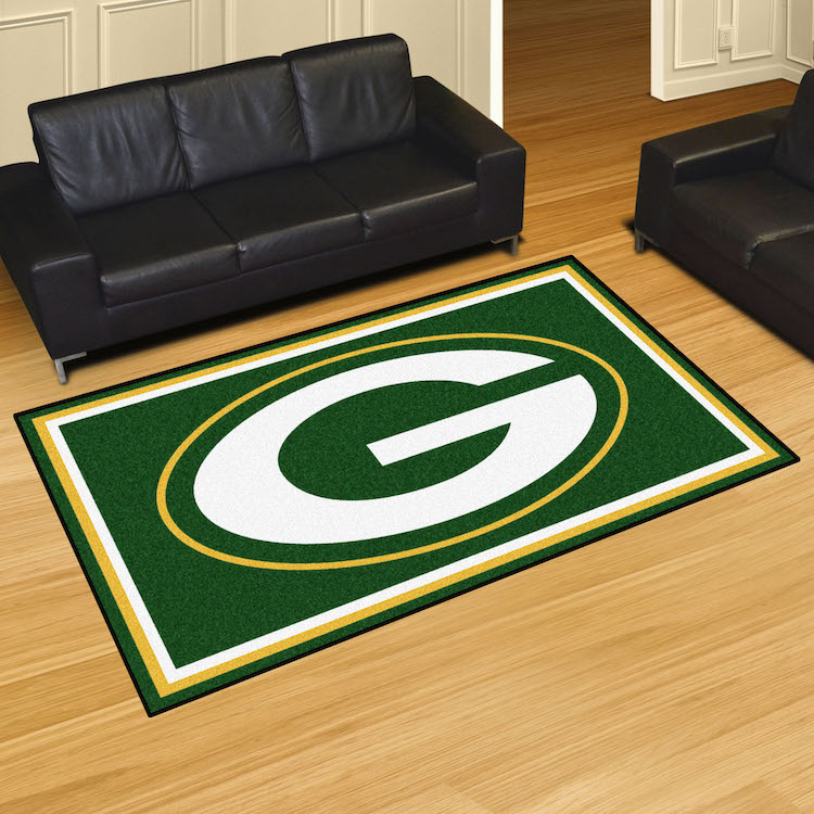 Green Bay Packers 5x8 Area Rug