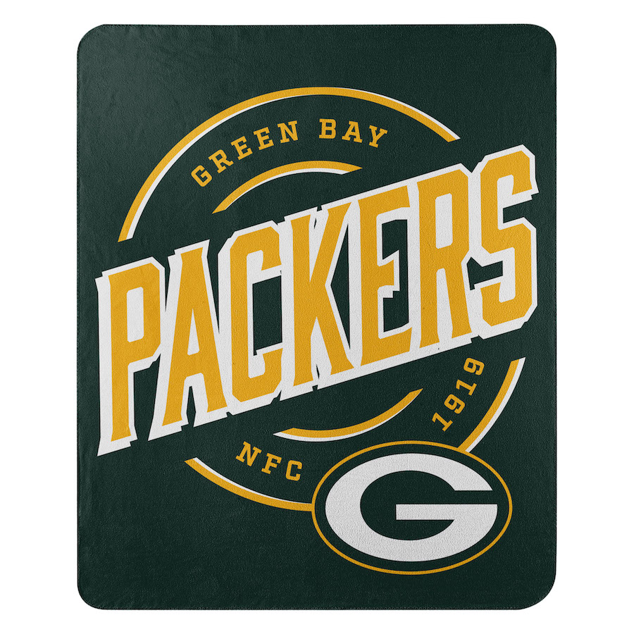 Green Bay Packers Fleece Throw Blanket 50 x 60