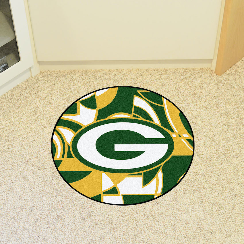 Green Bay Packers Quick Snap Roundel Mat