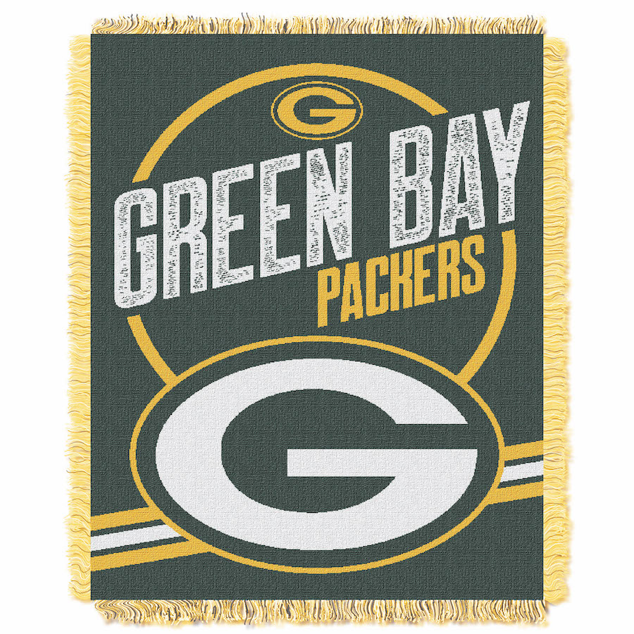 Green Bay Packers Double Play Tapestry Blanket 48 x 60