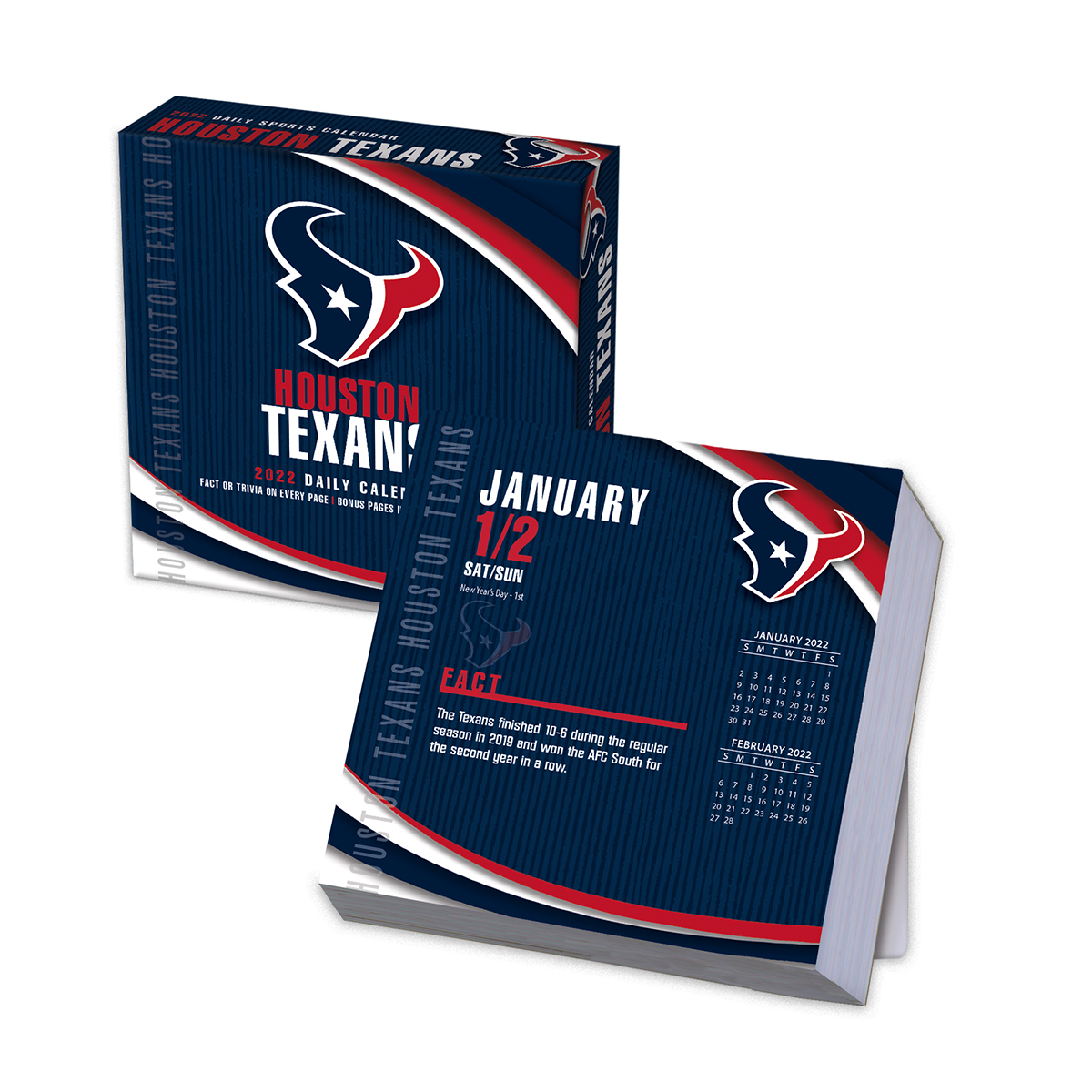 Houston Texans 2019 NFL Page-A-Day Box Calendar