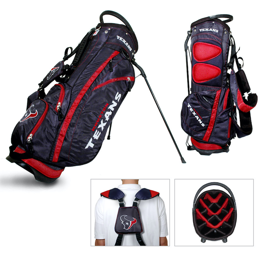 Houston Texans Fairway Carry Stand Golf Bag