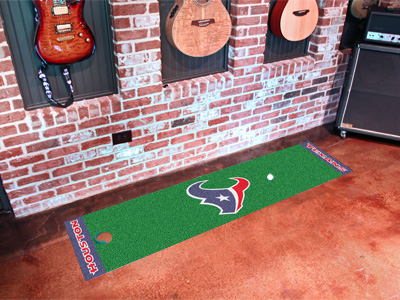 Houston Texans Putting Green Mat 18 x 72