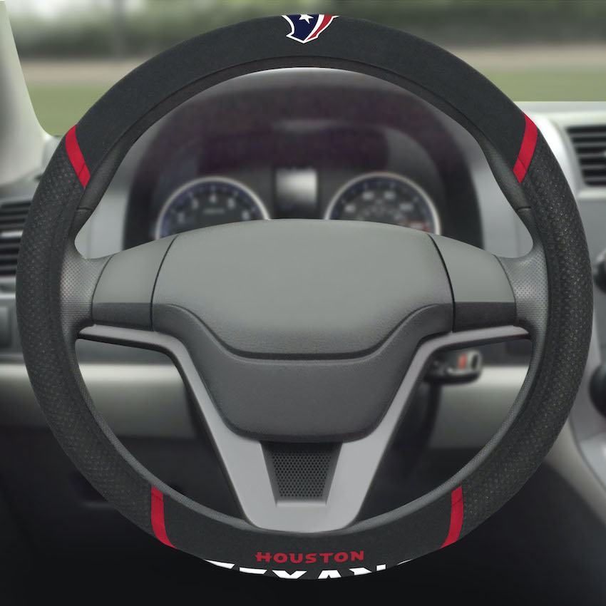 Houston Texans Steering Wheel Cover