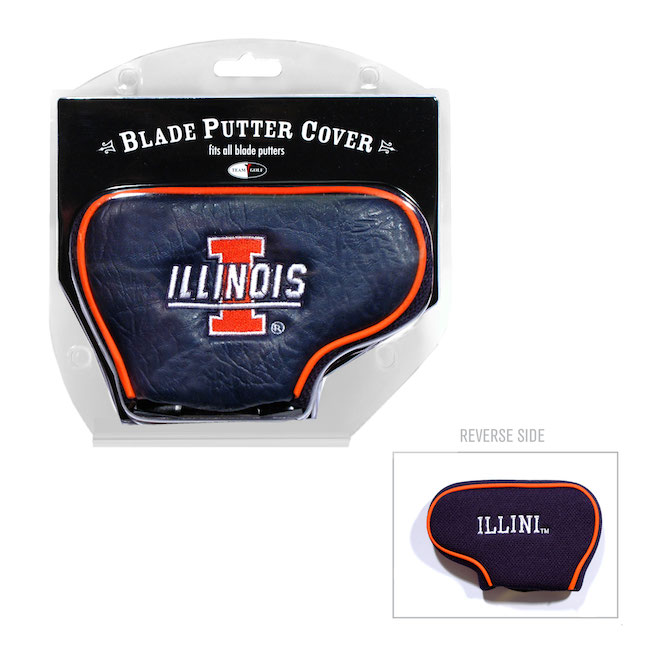 Illinois Fighting Illini Blade Putter Cover