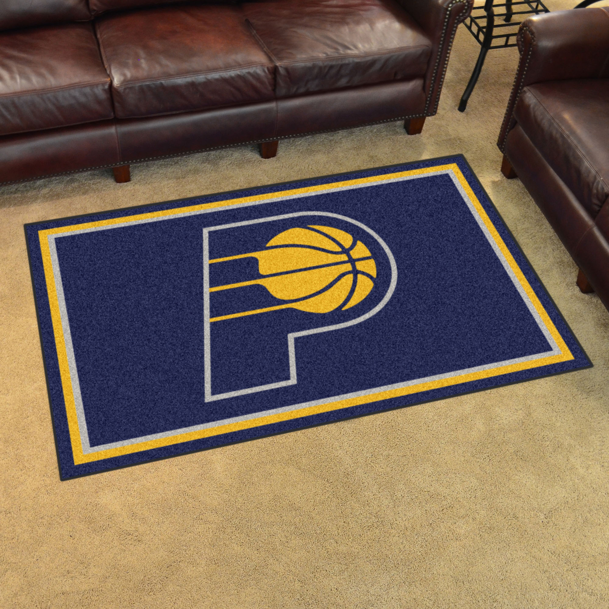 Indiana Pacers 4x6 Area Rug