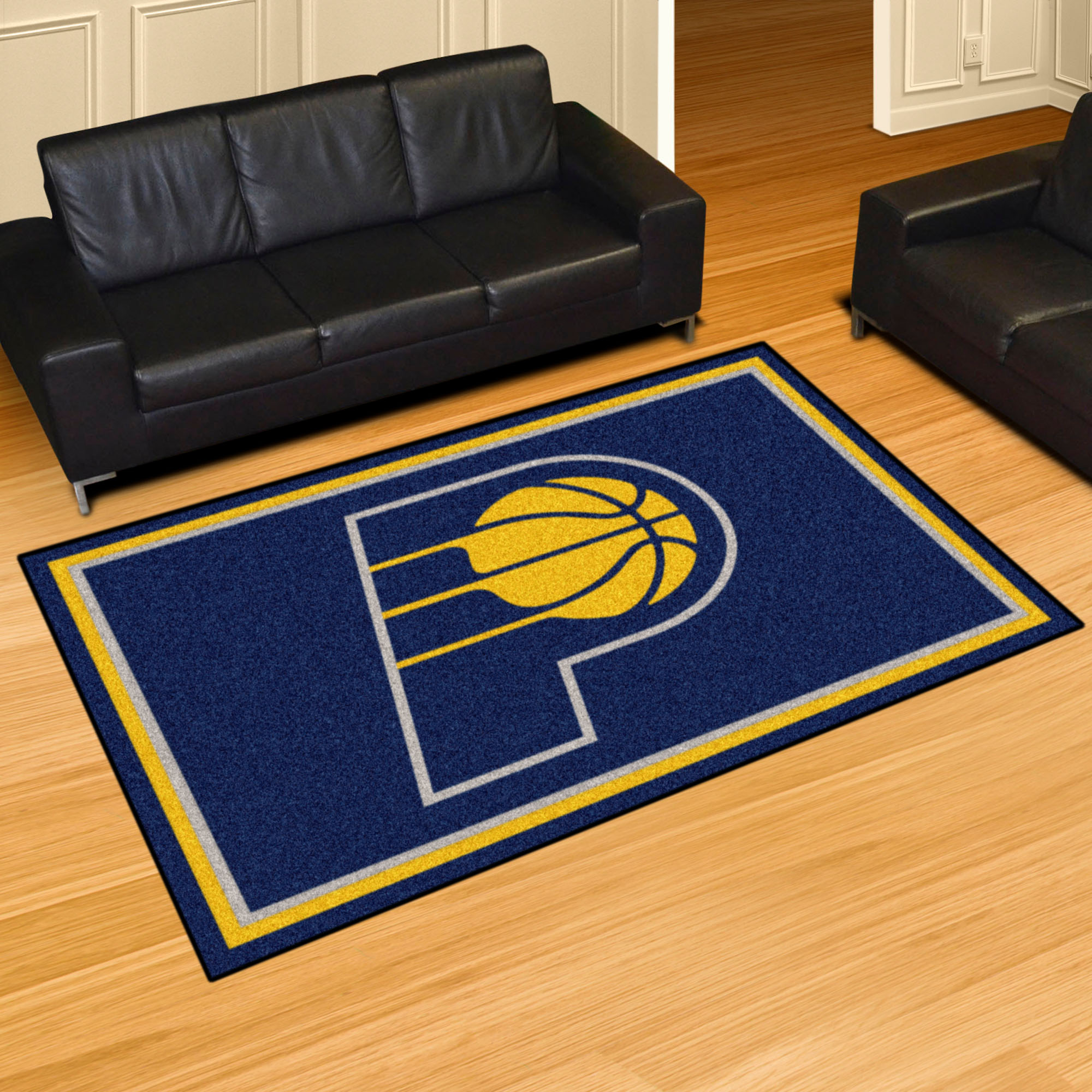 Indiana Pacers 5x8 Area Rug
