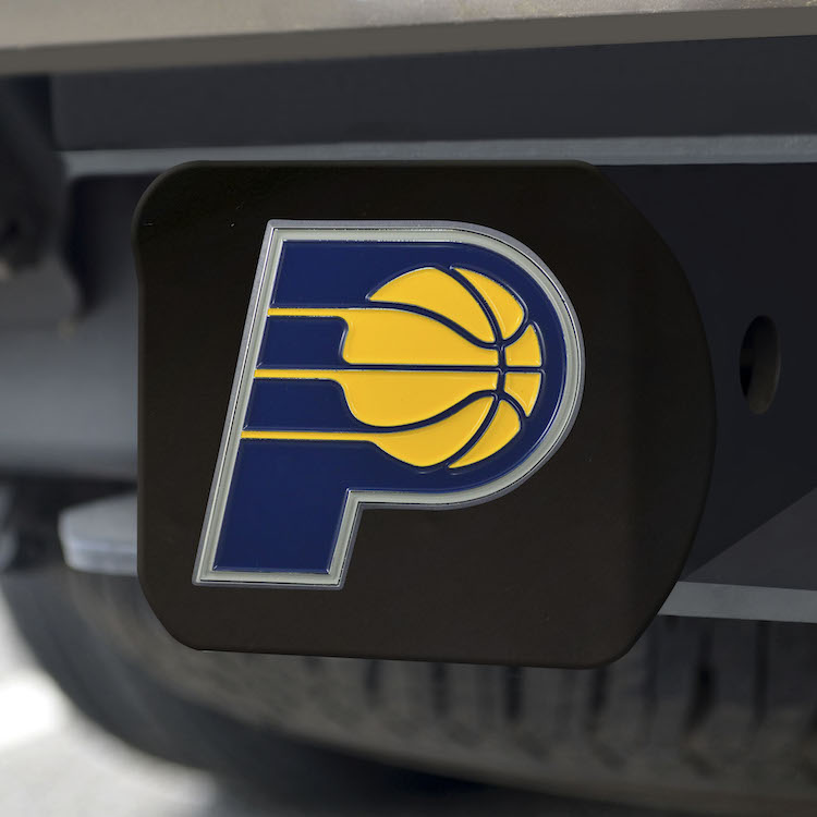 Indiana Pacers Black and Color Trailer Hitch Cover
