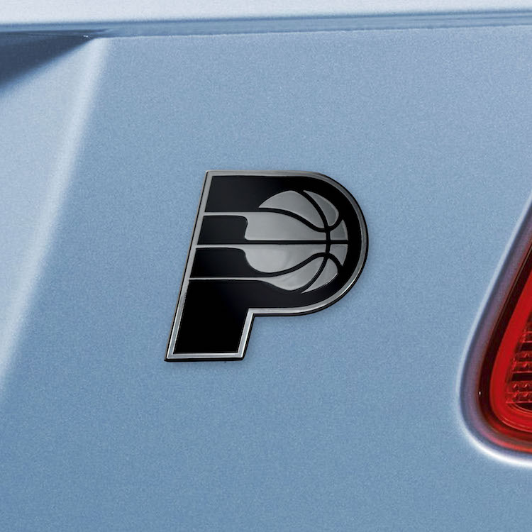 Indiana Pacers Metal Auto Emblem