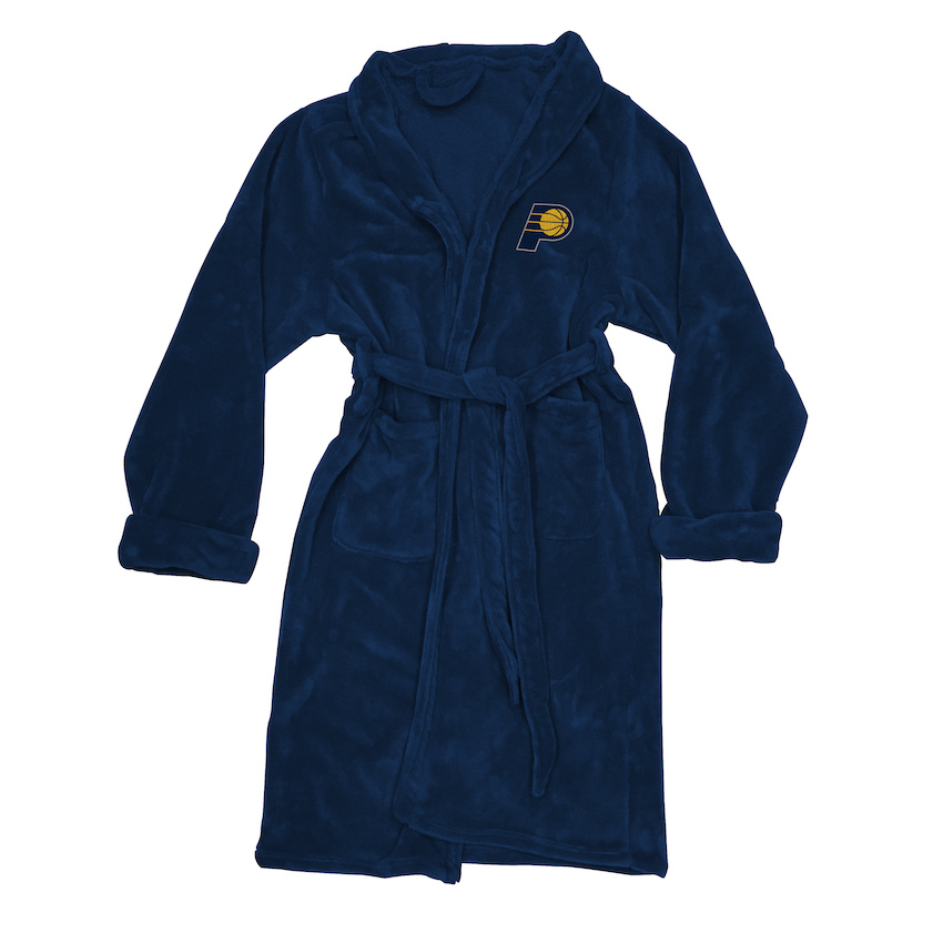 Indiana Pacers Mens Silk Touch Bath Robe (L/XL)