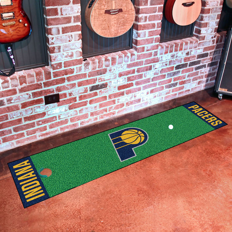 Indiana Pacers Putting Green Mat 18 x 72