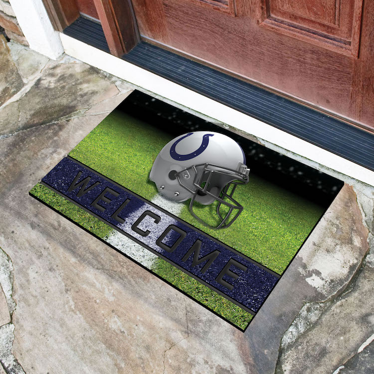 Indianapolis Colts Recycled Crumb Rubber Door Mat