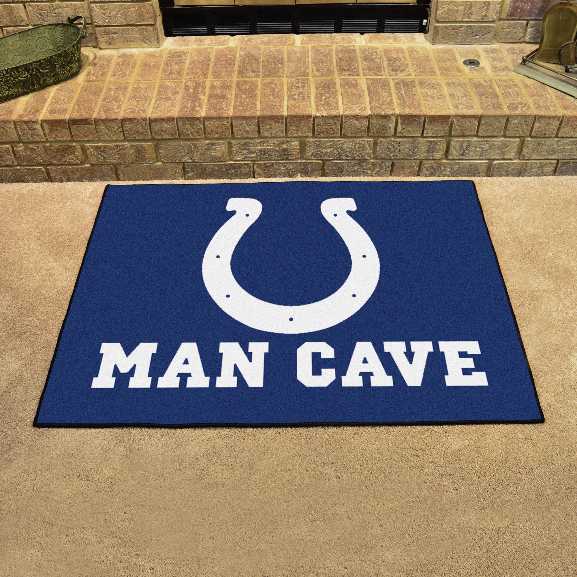 Indianapolis Colts ALL STAR 34 x 45 MAN CAVE Floor Mat