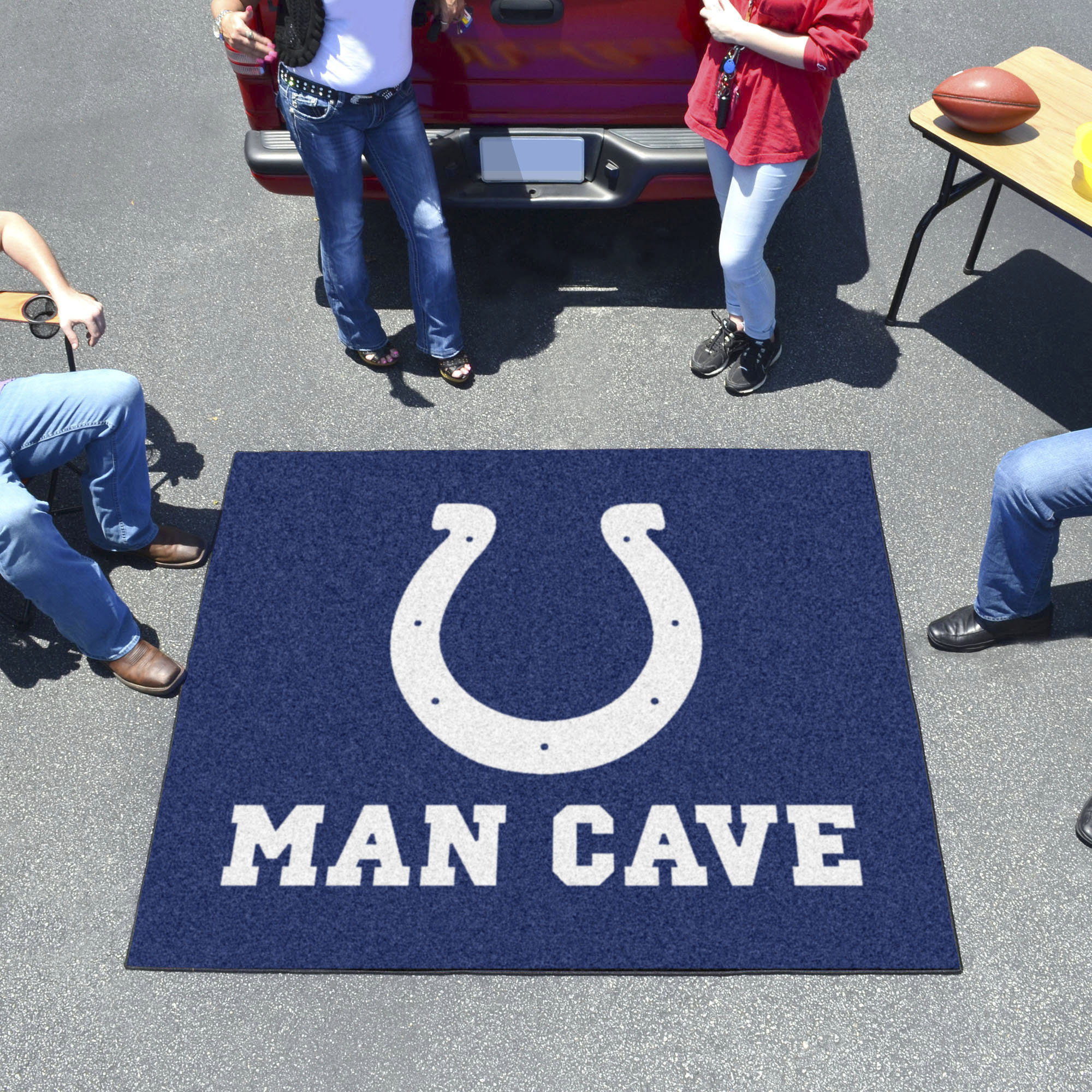 Indianapolis Colts MAN CAVE TAILGATER 60 x 72 Rug