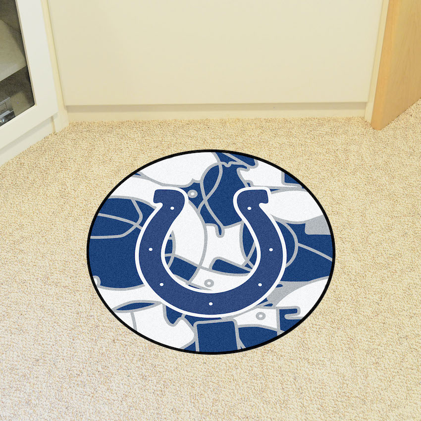 Indianapolis Colts Quick Snap Roundel Mat