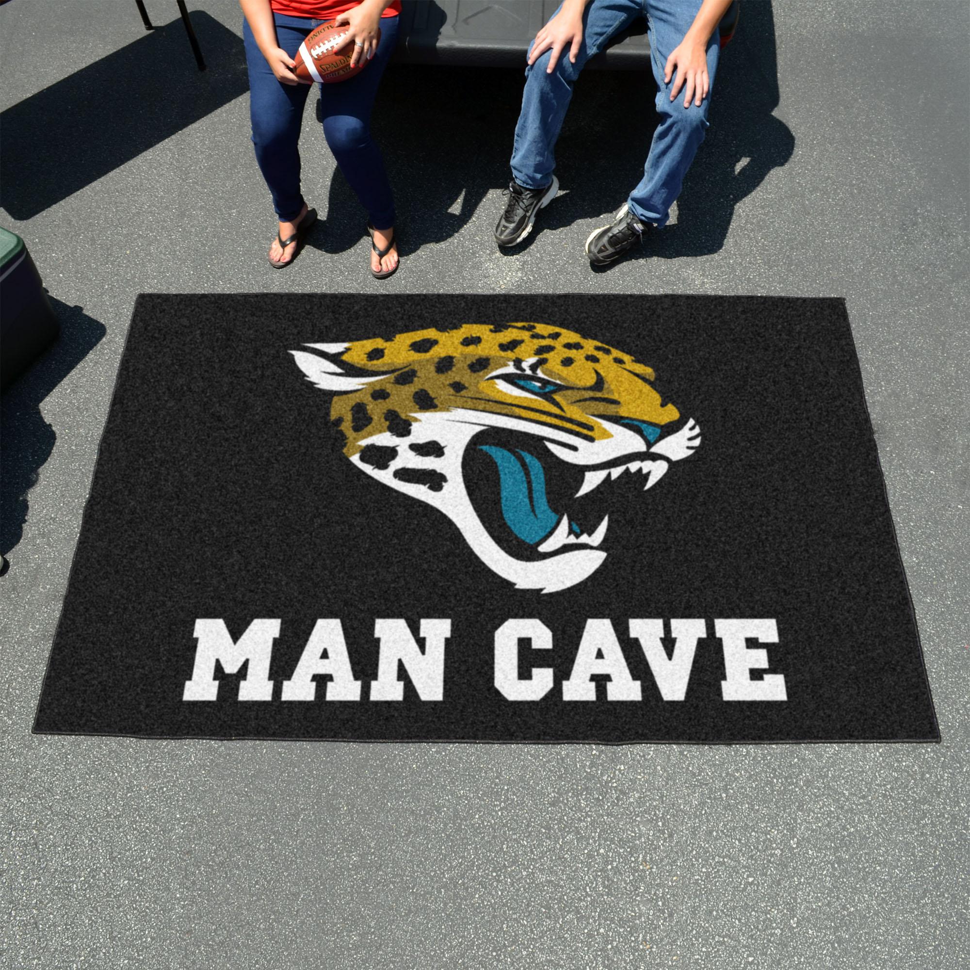Jacksonville Jaguars Utili Mat 60 X 96 Man Cave Rug Buy