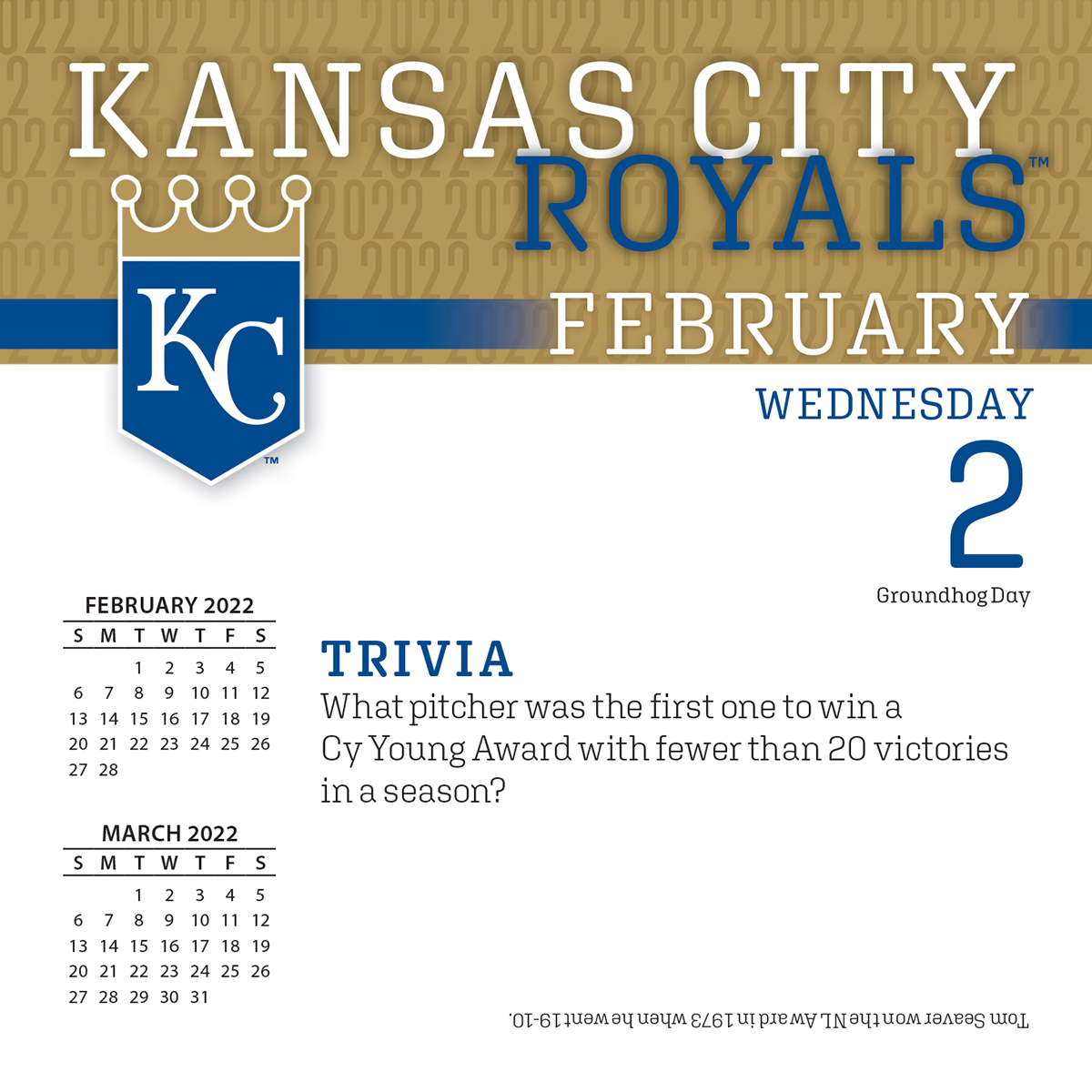 Kansas City Royals Desk Calendar Kansas City Royals 2018