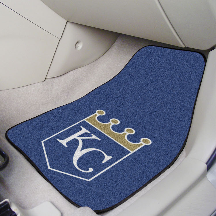 Kansas City Royals Carpeted Car Floor Mats Buy At Khc Sports