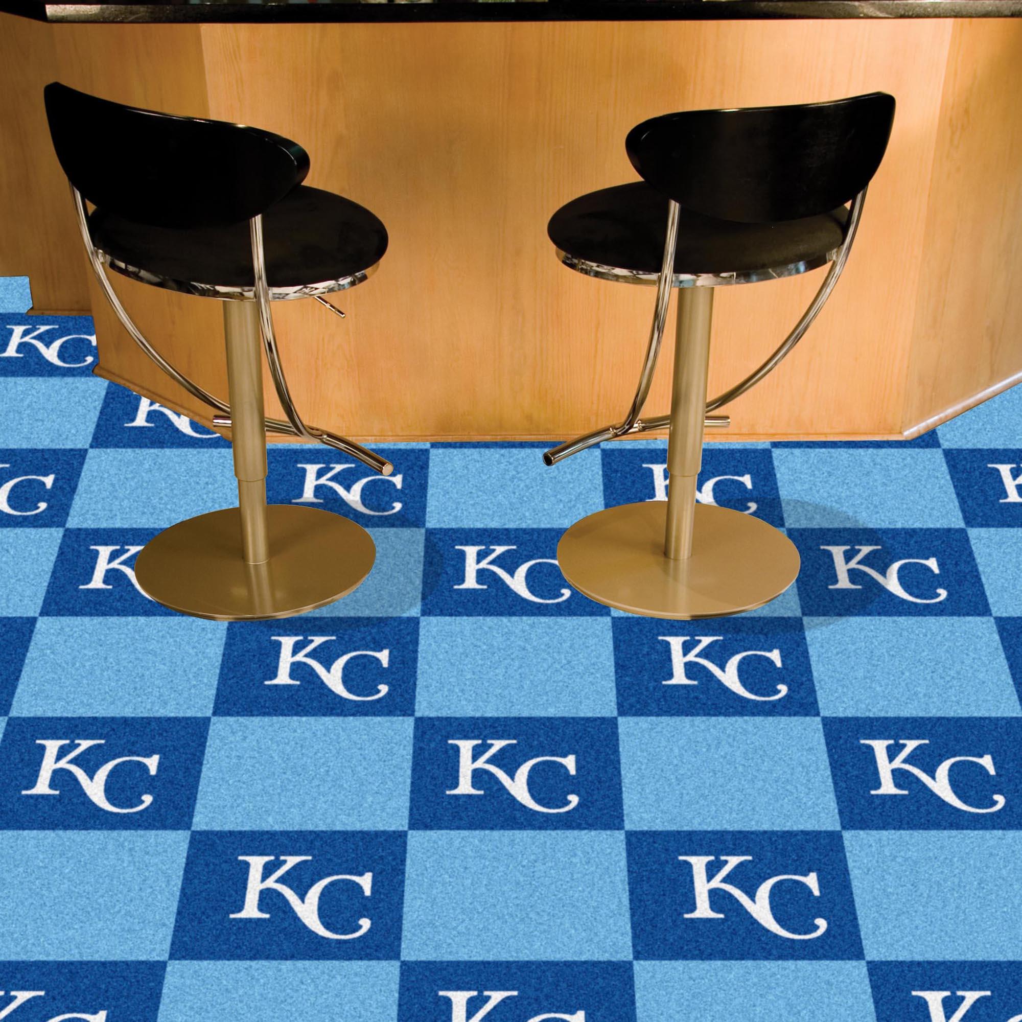 Kansas City Royals Carpet Tiles 18x18 In Buy At Khc Sports
