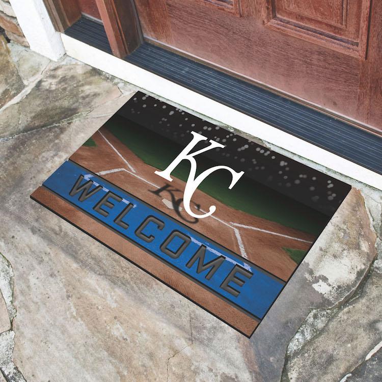 Kansas City Royals Recycled Crumb Rubber Door Mat Buy At