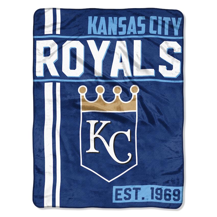 Kansas City Royals Structure Micro Raschel 50 X 60 Team